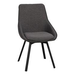 Šedá otočná kancelářská židle Rowico Alison