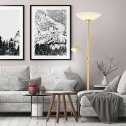 BANKAMP BANKAMP Meisterwerke stropní lampa, miska, mosaz