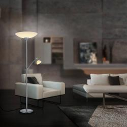 BANKAMP BANKAMP Meisterwerke stropní lampa, miska, nikl