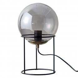 DYBERG LARSEN Dyberg Larsen Moon stolní lampa koule ze skla kouř
