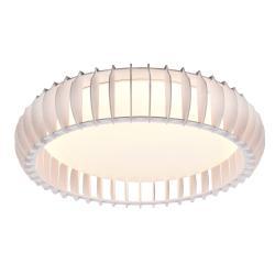 Reality Leuchten LED stropní světlo Monte, CCT, Ø 60 cm, bílá