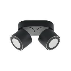 Lindby Lindby Lowie LED spot, čtyři zdroje, černý