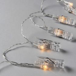 CLIP ART LED Kolíčky 10 světel