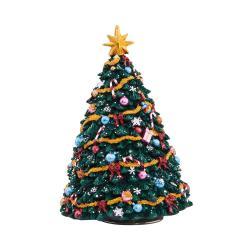 X-MAS Hrací skříňka vánoční stromek 16,5 cm
