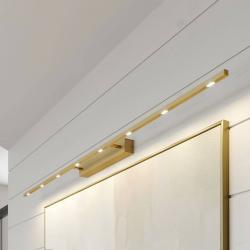Lucande Lucande Tolu světlo nad obraz, mosaz matná, 159 cm