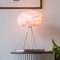 UMAGE UMAGE Eos mini stolní lampa růžová, trojnožka bílá