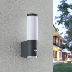 Lindby Lindby Okari venkovní nástěnné světlo senzor, 29cm