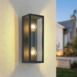 Lindby Lindby Peldar venkovní nástěnné světlo, dva zdroje