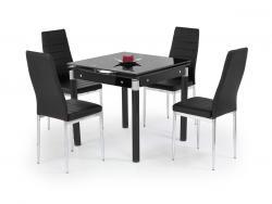 Halmar Rozkládací jídelní stůl Kent 2 černý