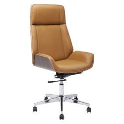 Hnědá kancelářská židle Kare Design High Bossy