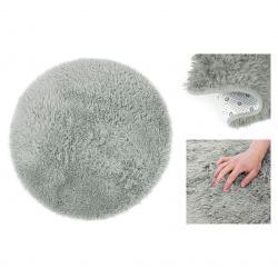 Kulatý koberec AmeliaHome Karvag šedý