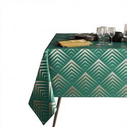 Ubrus AmeliaHome Oxford Pira láhvově zelený