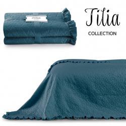 Přehoz na postel AmeliaHome Tilia mořský