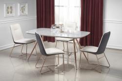 Halmar Jídelní stůl Barco šedý mramor