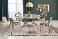 Halmar Jídelní stůl Bienell šedý mramor