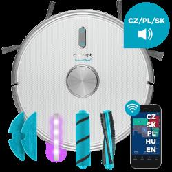 Concept VR3205 robotický vysavač s mopem 3 v 1 PERFECT CLEAN Laser UVC Y-wash