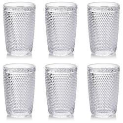 DekorStyle Sada 6 sklenic Elise Clear 300ml