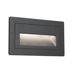 Paulmann 94383 Long, venkovní zápustné svítidlo do stěny, 230V, LED 2W, 3000K 210x60 antracit, IP65