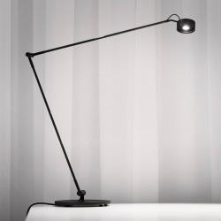 Absolut/ Radius Stolní lampa LED Basica 930 E výložník, černá