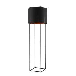 Lindby Lindby Kesta stojací lampa látka podstavec 4 tyče