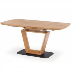 Hector Jídelní stůl Bravo 2 160-220x90 cm hnědý