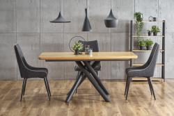 Halmar Rozkládací jídelní stůl Derren přírodní dub
