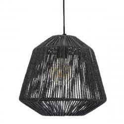 DekorStyle Stropní svítidlo Jily Black 29 cm