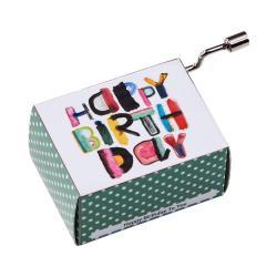 SING A SONG Hrací skříňka Happy Birthday moderní