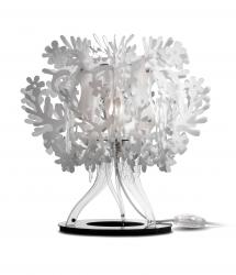 Slamp FIO14TAV0001W Fiorellinna table lamp, bílá stolní lampa, 1x28W E27, výška 34cm