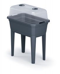 PlasticFuture Sadbovač RESPANA PLANTER ECOLINE SET 59,6cm antracitový