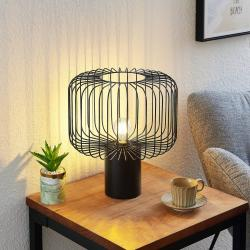 Lindby Lindby Vatiki stolní lampa s klecovým stínidlem