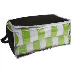 DekorStyle Obal na textil Zino černo-zelený