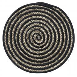 DekorStyle Podložka na stůl Terre Black černá