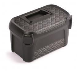 PlasticFuture Kufr na nářadí LINE IML 38x23,4x22,5 cm šedý