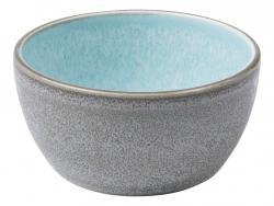 Servírovací miska Bitz šedá/světlemodrá 10 cm