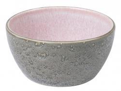 Servírovací miska Bitz šedá/růžová 12 cm