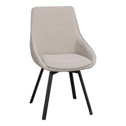Béžová otočná kancelářská židle Rowico Alison