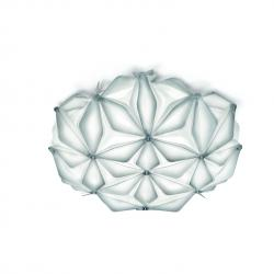 Slamp La Vie mini, bílé designové svítidlo, 2x6W LED E14, prům. 36cm