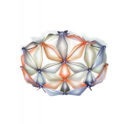 Slamp La Vie mini, ambrové designové svítidlo, 2x6W LED E14, prům. 36cm