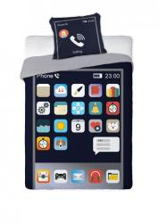 Faro Bavlněné povlečení Neon Smartfon 160x200 cm