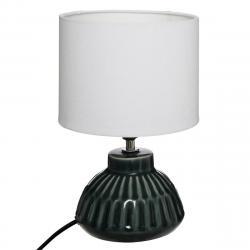 DekorStyle Noční lampa Paty zelená/bílá