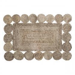 DekorStyle Dekorativní jutový koberec Lace 60x90 cm