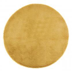 DekorStyle Kulatý koberec Vose žlutý