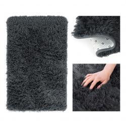 Kusový koberec AmeliaHome Karvag II tmavě šedý