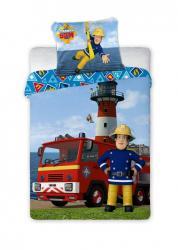 Faro Dětské bavlněné povlečení Požárník Sam 033 - 100x135 cm