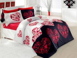 Faro Povlečení Valentini Julien 160x200 cm červené