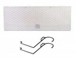 PlasticFuture Truhlík RETTO s háky a vkladem bílý