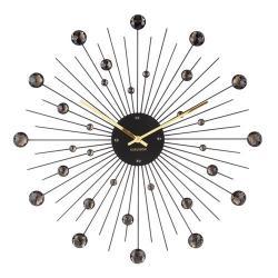 Karlsson 4859BK Designové nástěnné hodiny, 50 cm