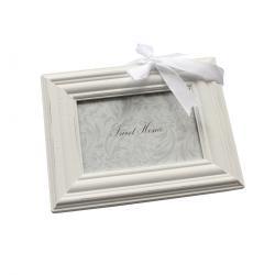 Závěsný fotorámeček bílá, 9 x 13 cm