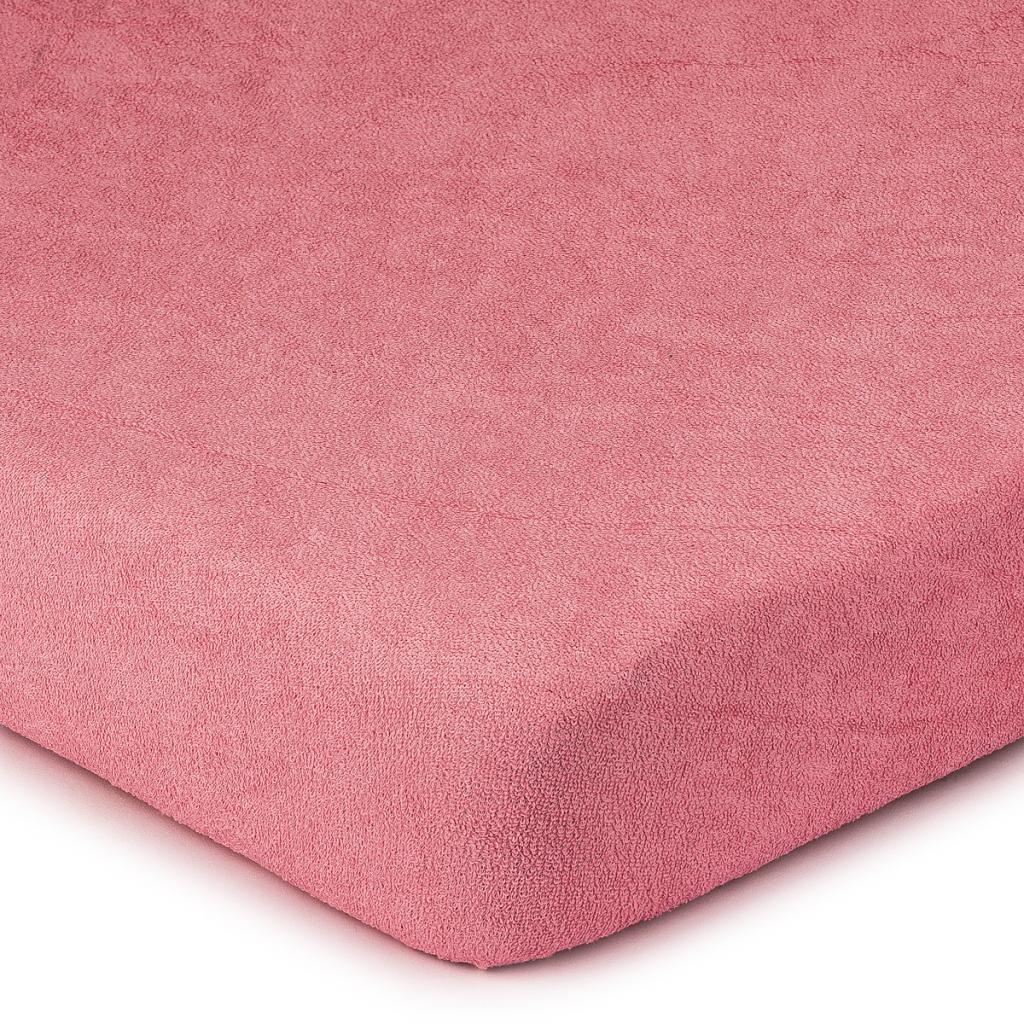 Produktové foto 4Home Froté prostěradlo růžová, 90 x 200 cm